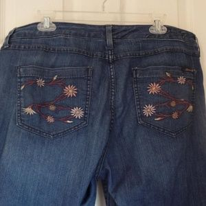Size 16 Seven7 Class Flare Jeans